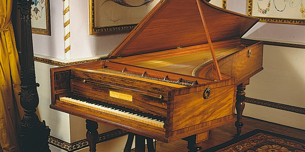 Cramer's grand piano by John Broadwood and Sons