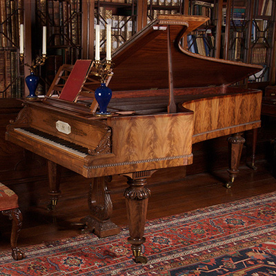 JANE STIRLING'S GRAND PIANO - THE COBBE COLLECTION