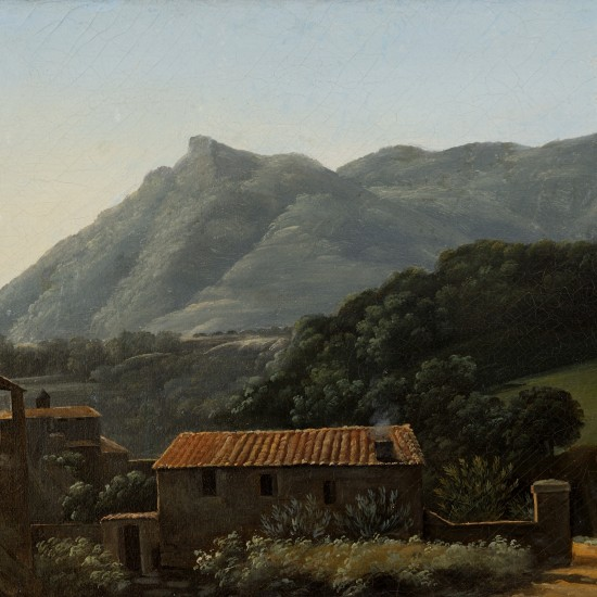 Jean-Joseph-Xavier Bidauld – View of the Valley of the Arno from Vallombrosa