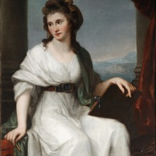 Angelica Kauffmann R.A. - Portrait of the Artist