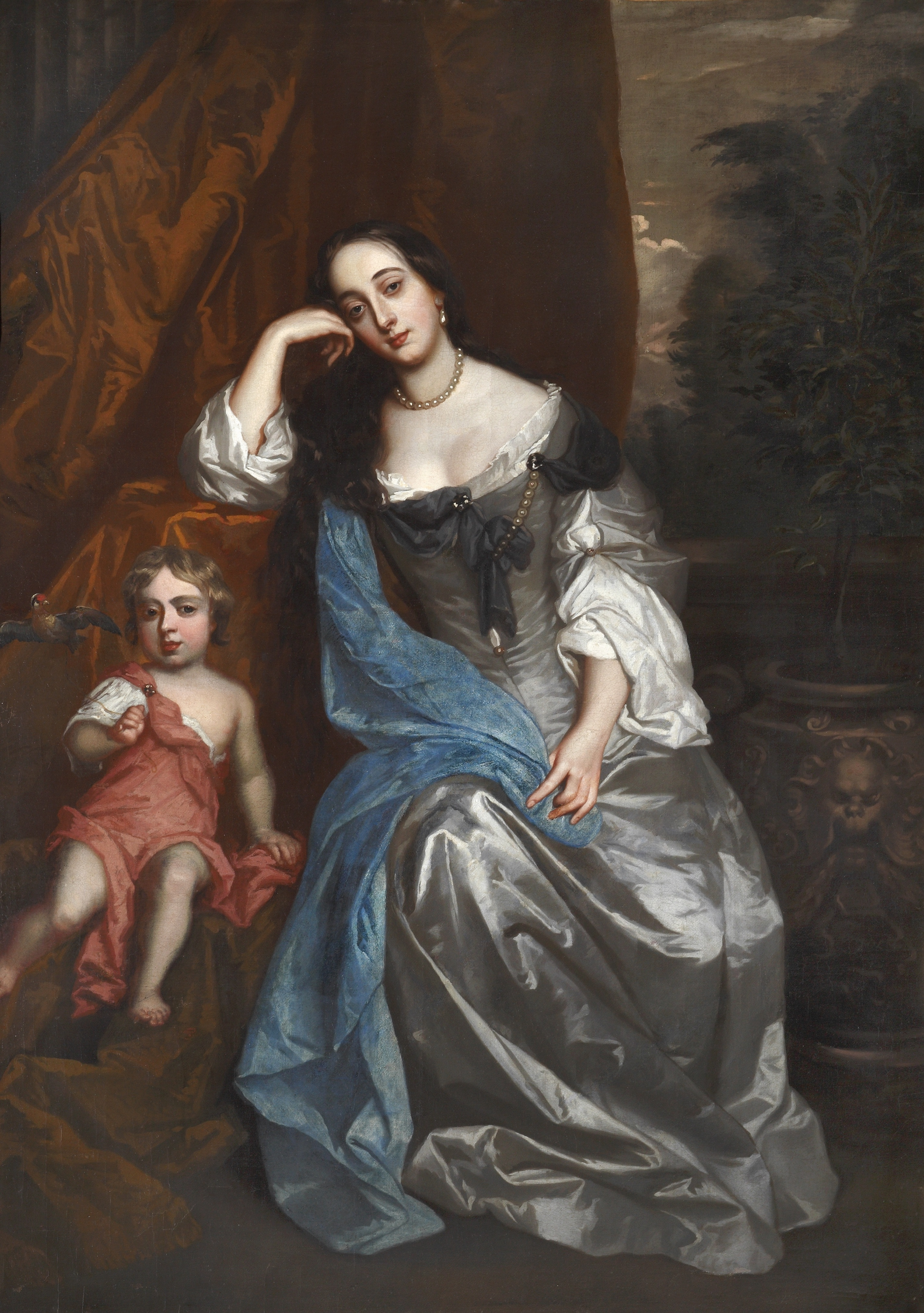 Sir Peter Lely – Barbara Villiers, Duchess of Cleveland with her Daughter, Lady Charlotte FitzRoy