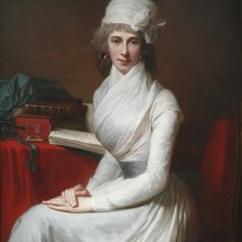 Jean-Laurent Mosnier - Catherine Cobbe, the Hon. Mrs Henry Pelham