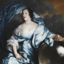 Sir Anthony van Dyck - Rachel Wriothesley, Countess of Southampton, as Fortune