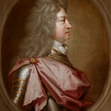 Sir Godfrey Kneller - King George I in profile, the 'Coin Portrait'