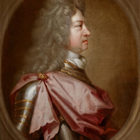 Sir Godfrey Kneller – King George I in profile, the 'Coin Portrait'