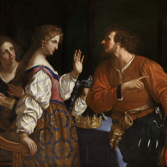 Giovanni Francesco Barbieri – Semiramis Receiving the News of the Revolt of Babylon
