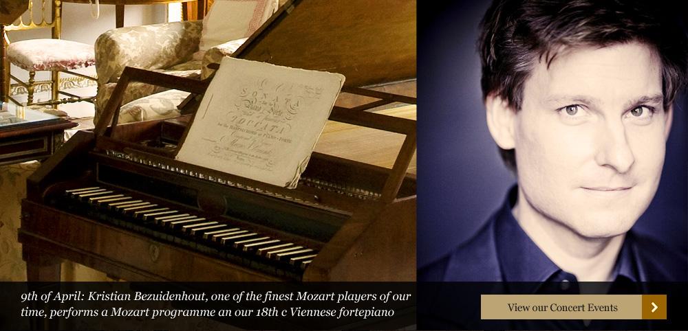 Kristian Bezuidenhout – piano, Mozart