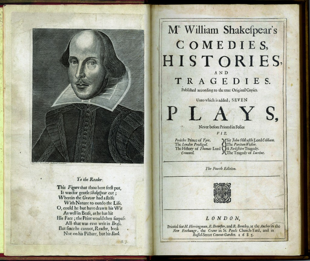 Shakespeare Fourth Folio