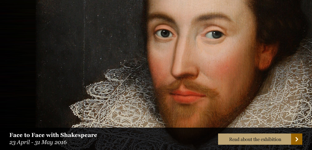 Face to Face with Shakespeare exhibition