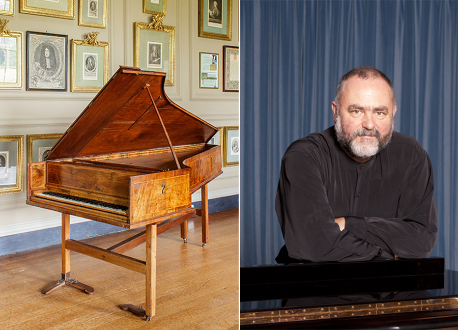 Malcolm Proud and Weber Harpsichord