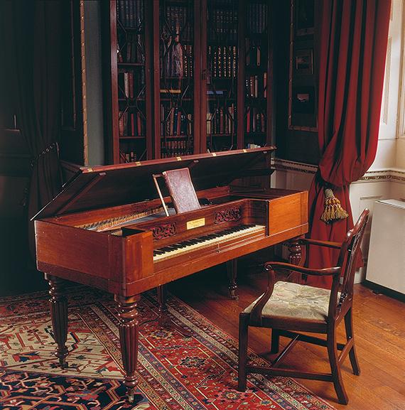 Elgar's Broadwood square piano