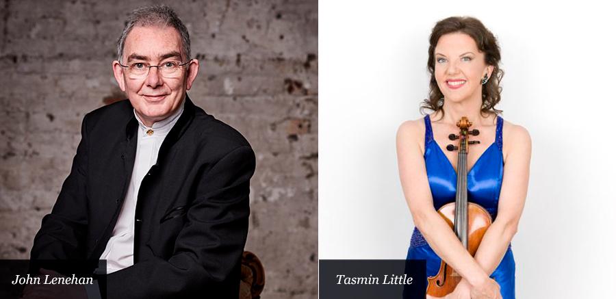 Tasmin Little and  John Lenehan