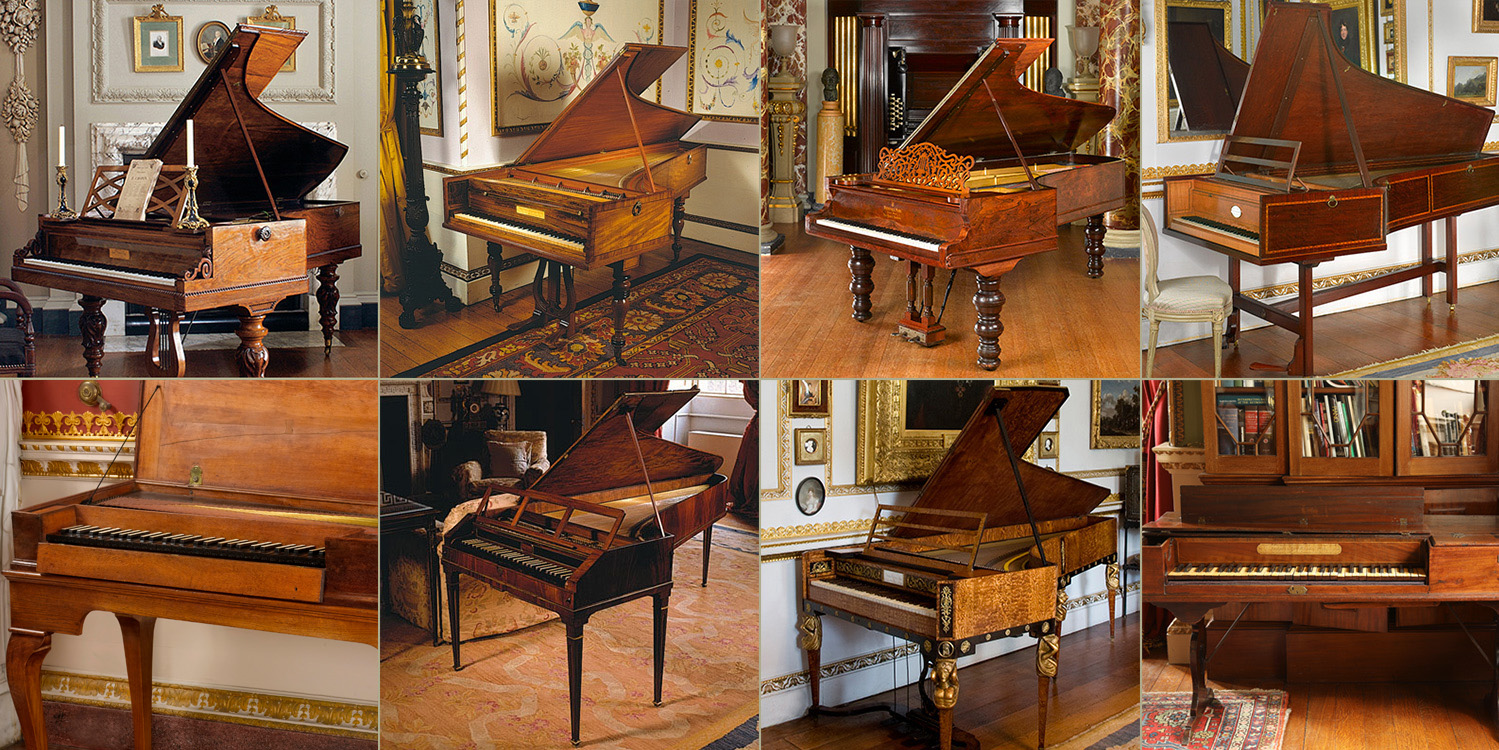 Leeds Piano competition instruments