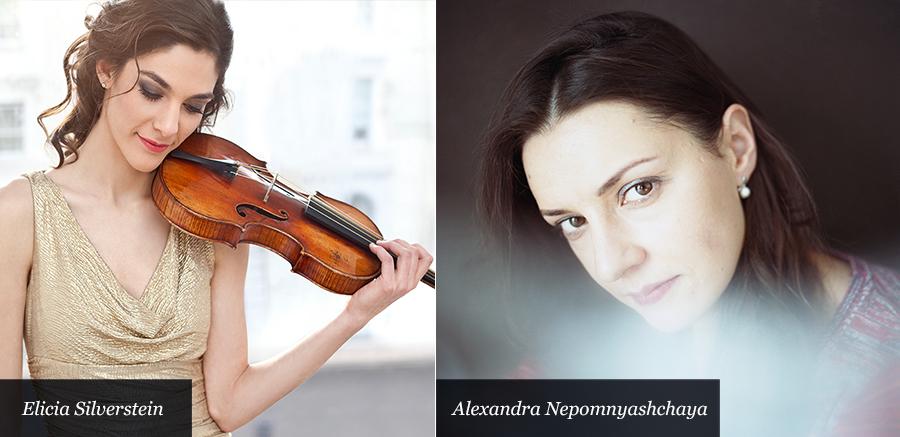 Elicia Silverstein and Alexandra Nepomnyashchaya