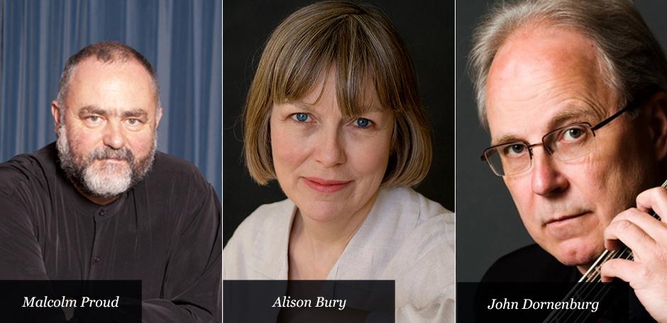 Alison Bury, John Dornenburg and Malcolm Proud