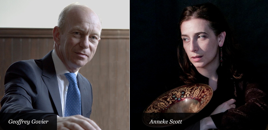 Anneke Scott and Geoffrey Govier