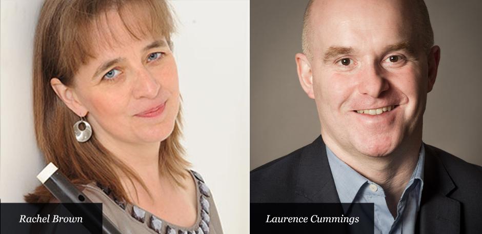 Rachel Brown and Laurence Cummings